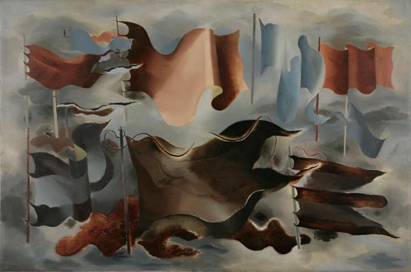 Drapeaux d'Hiver by Paule Vézelay (1930). England & Co.