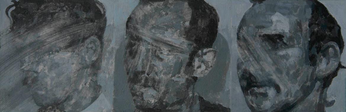Beware of Agents by Stuart Brisley, in British Museum