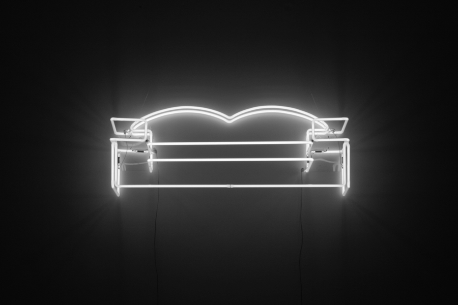 Neon Couch by Tina Keane. England & Co Gallery, London