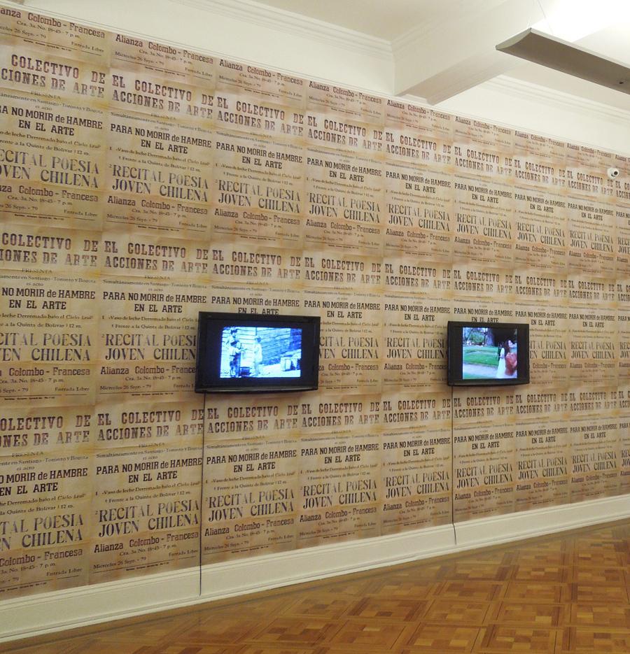Works by Cecilia Vicuña in exhibition Ausencia Encarnada