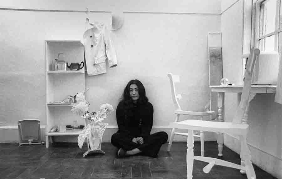 Yoko Ono photographed by Clay Perry.