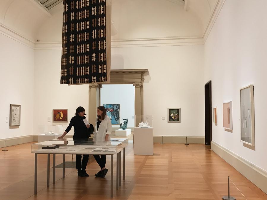 Spotlight on Paule Vézelay: room at Tate Britain